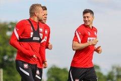 莱万领衔的波兰队正在全力备战欧洲杯